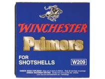Winchester Primers #209 Shotshell Box of 1000 (10 Trays of 100)