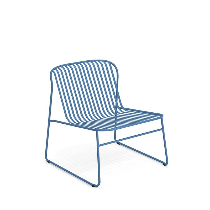 fauteuil lounge empilable riviera emu