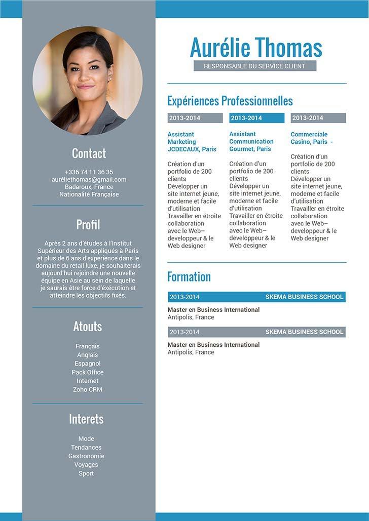 Fair Un Cv Curriculum Vitae Elegant Mycvfactory
