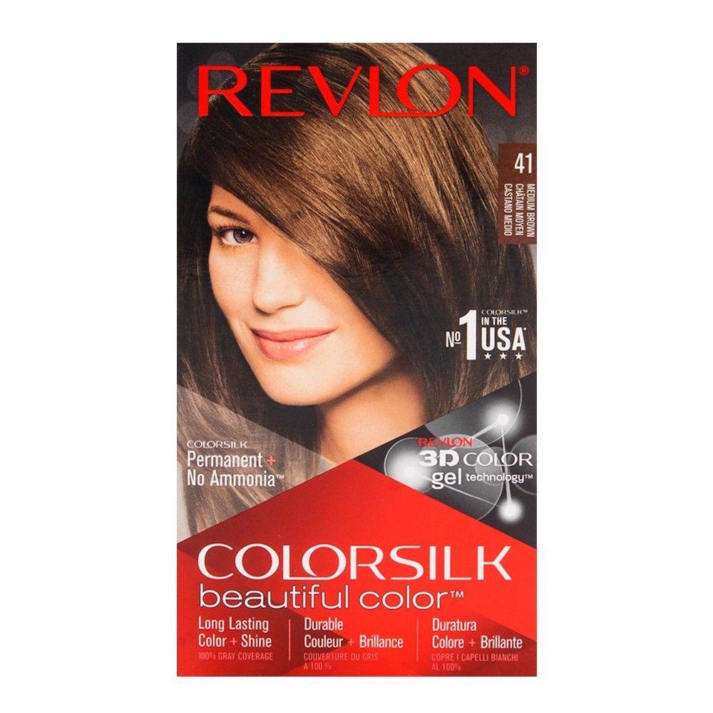 Order Revlon Colorsilk Medium Brown Hair Color 41 Online At Best Price In Pakistan Naheed Pk