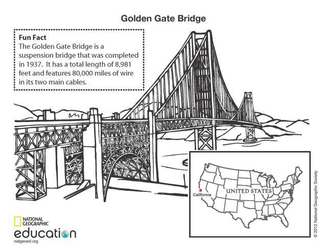 Golden Gate Bridge  National Geographic Society