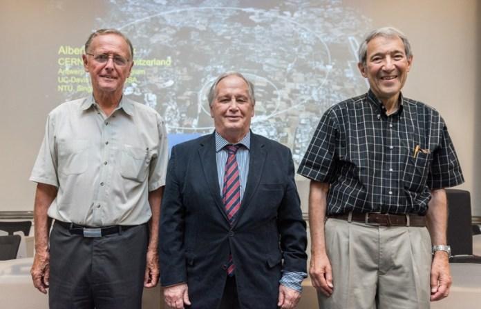 Peter van Nieuwenhuizen, Sergio Ferrara and Dan Freedman