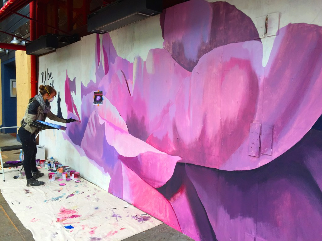 Artists Add Color To Drab Boarded San Francisco Buildings Nbc