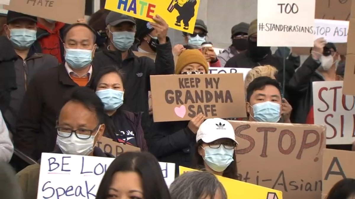 www.nbcbayarea.com: Hundreds Gather in SF for Rally in Solidarity With the Asian American Community