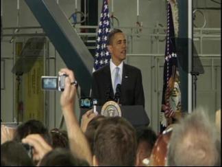 Obama Speaks at Solyndra