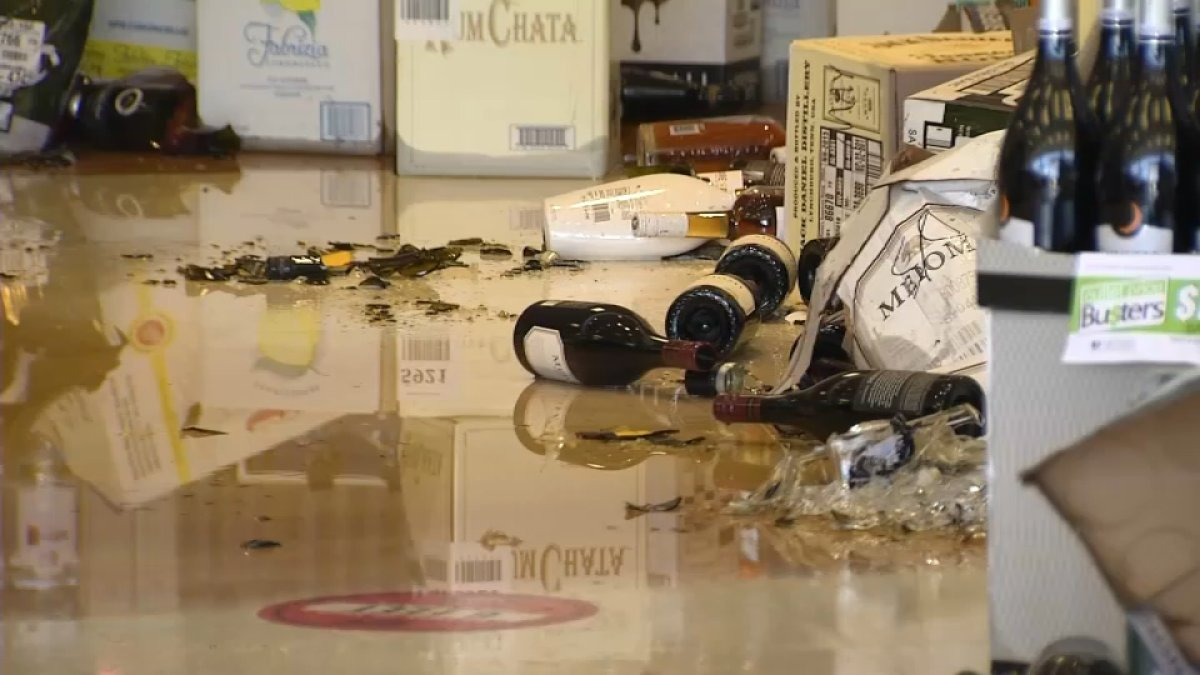 Truck Slams Into NH Liquor & Wine Outlet: 'Only Casualties Were Some Wine And Spirits'