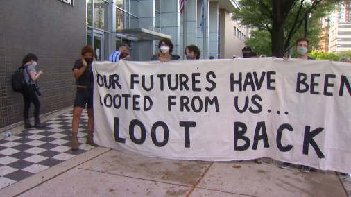 Black Lives Matter Holds Rally Supporting Individuals Arrested in Chicago  Looting Monday – NBC Chicago