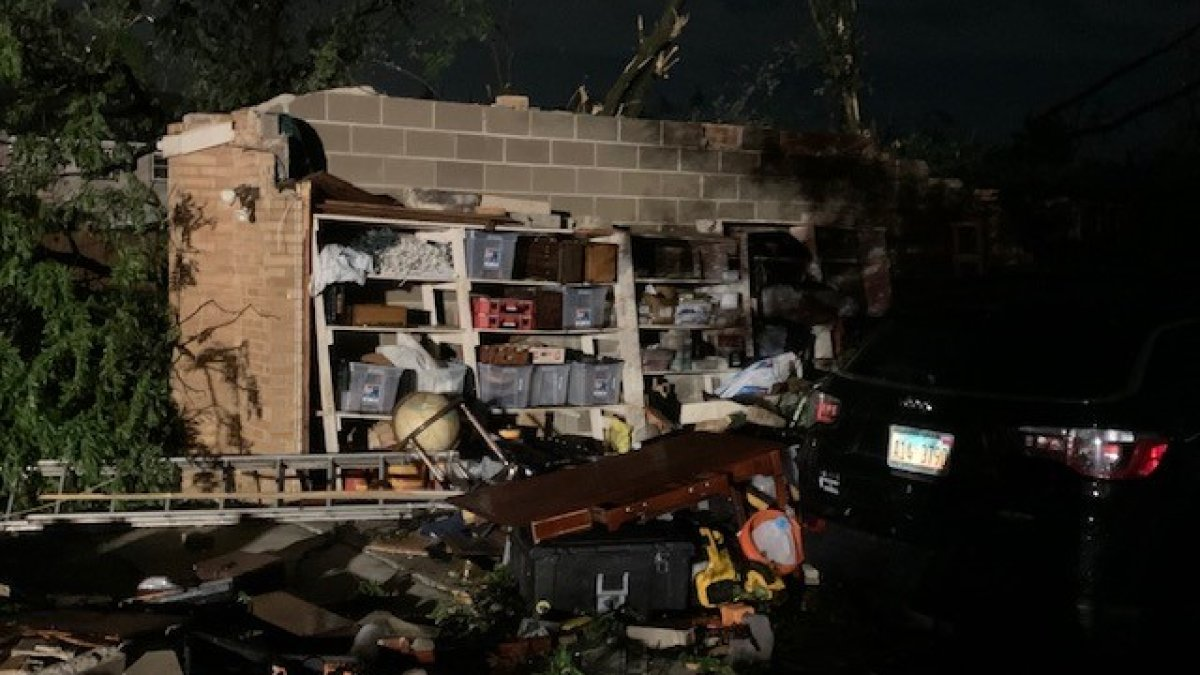Tornado, Massive Storms Tear Through Chicago Suburbs, Causing Devastating Damage