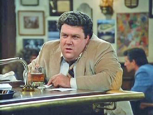 Image result for george wendt cheers