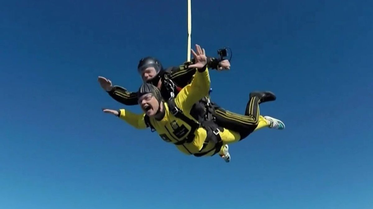 Here's Why Jenna Bush Hager Shouted 'Hoda' During Her 10,000-Foot Skydive