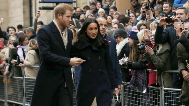 Image result for meghan and prince harry with royal fans