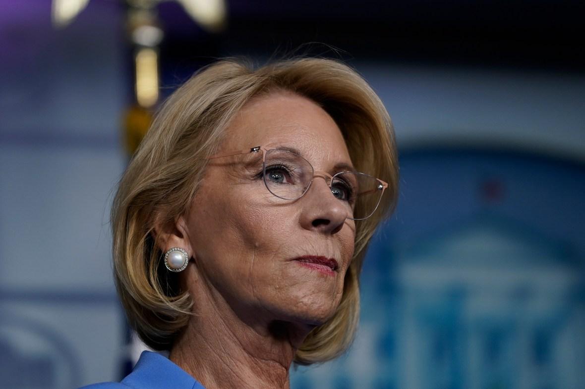 DeVos Issues Rule Steering More Virus Aid to Private Schools – NBC ...
