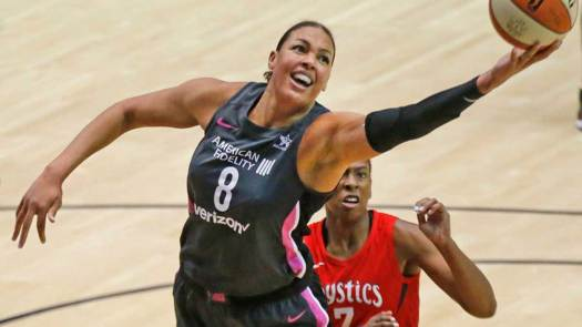 WNBA Star Liz Cambage Traded From Dallas to Las Vegas ...
