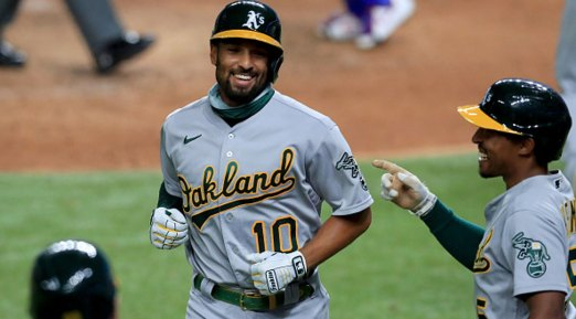 Olson, Semien Homer as A's Cruise to Win Over Rangers – NBC 5 Dallas-Fort  Worth