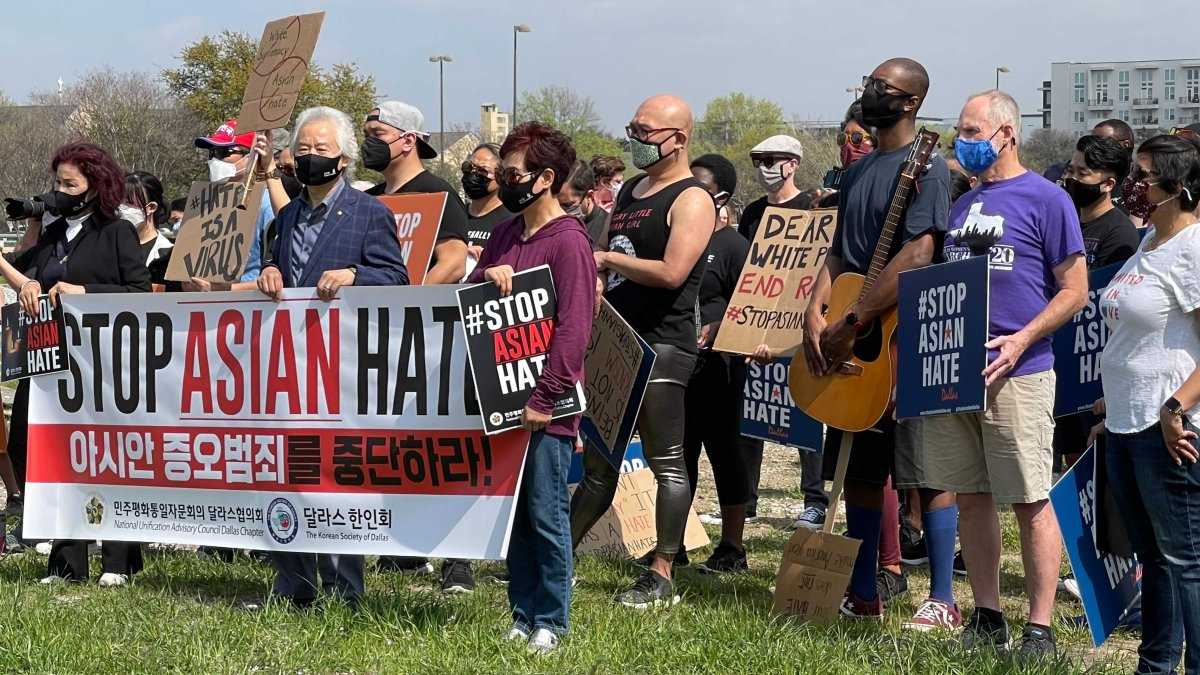 www.nbcdfw.com: Hundreds Attend Dallas Rally Calling for Change and an End to Asian Hate