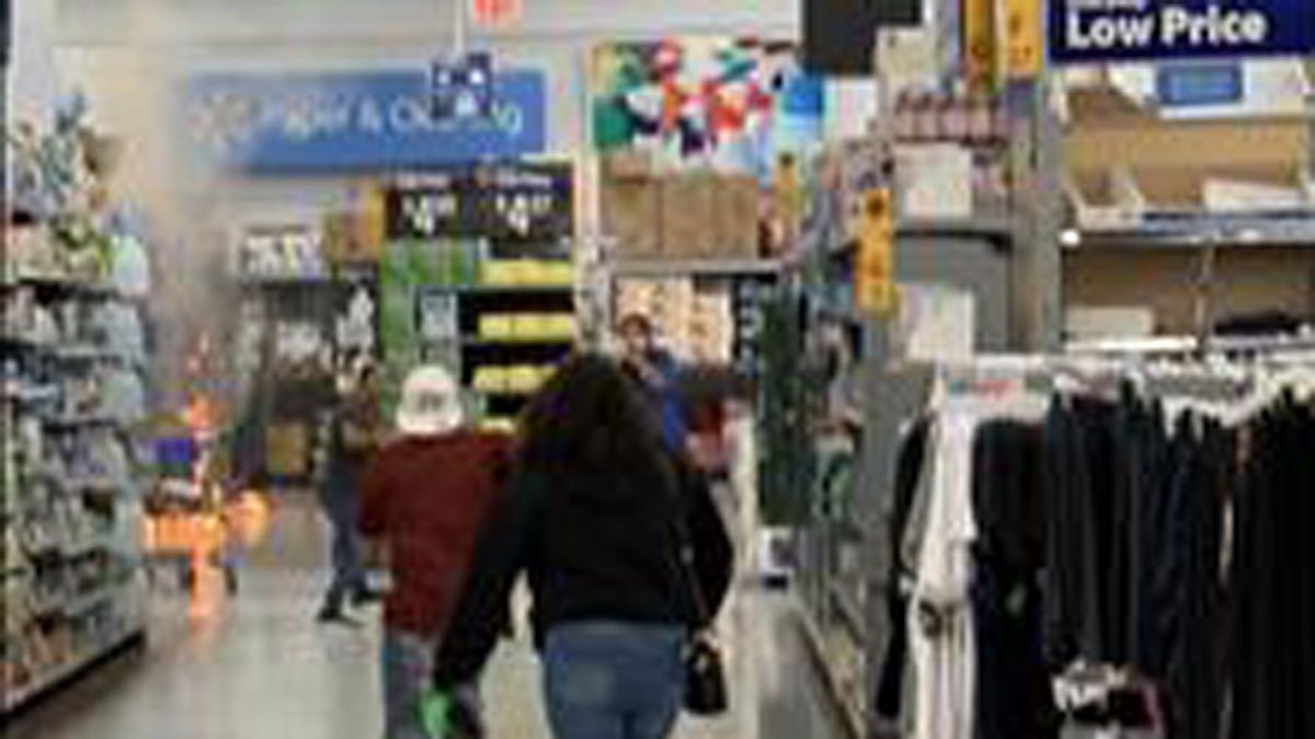 Officials Investigating 'Suspicious' Fire Inside Denton Walmart