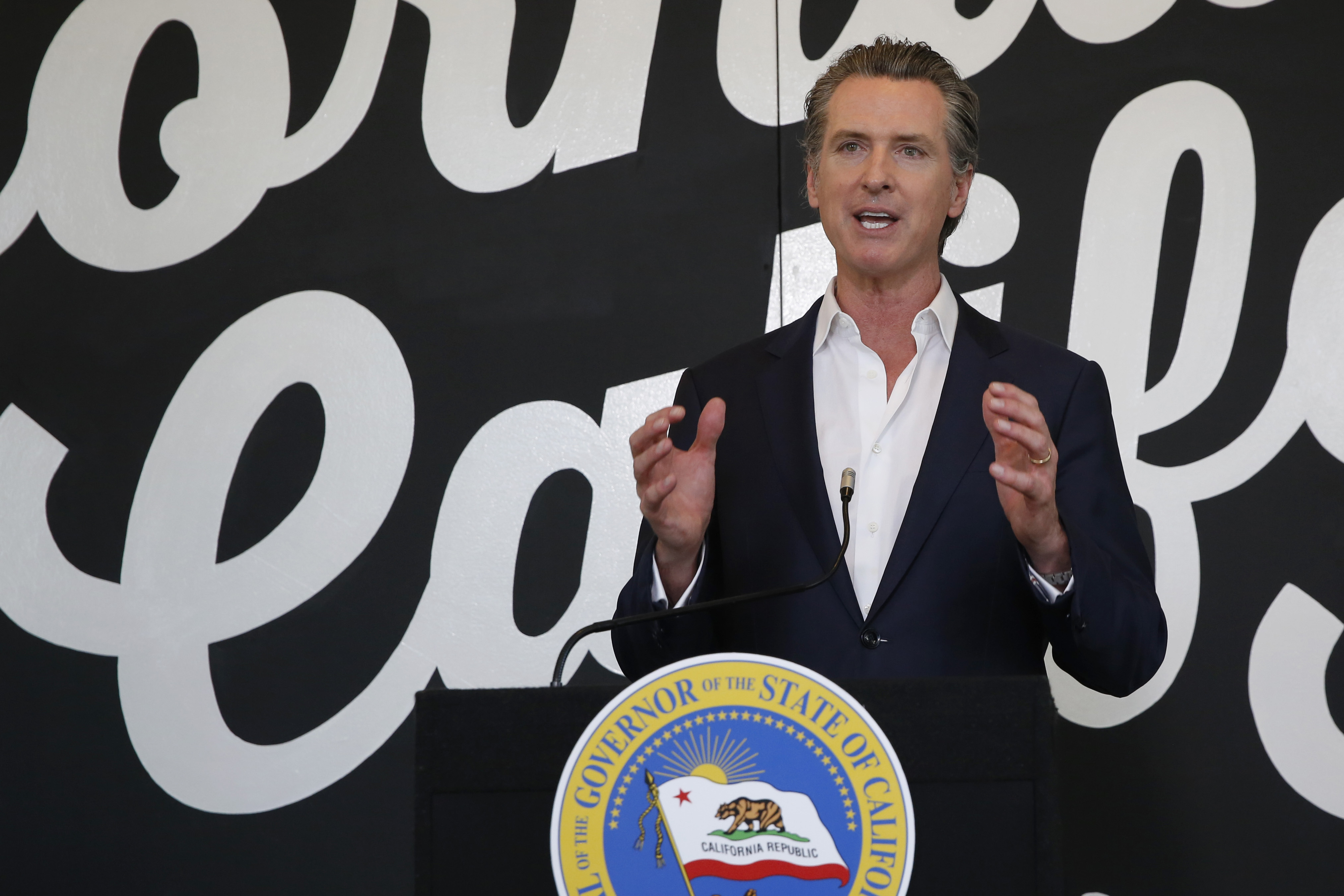 Federal Justice Department Head Says California Reopening Plan ...