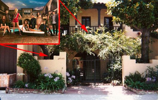 Melrose Place Is In Los Feliz