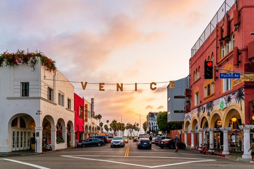 Venice beach, California a Spectacular Parade Every Sunday 3/28/21
