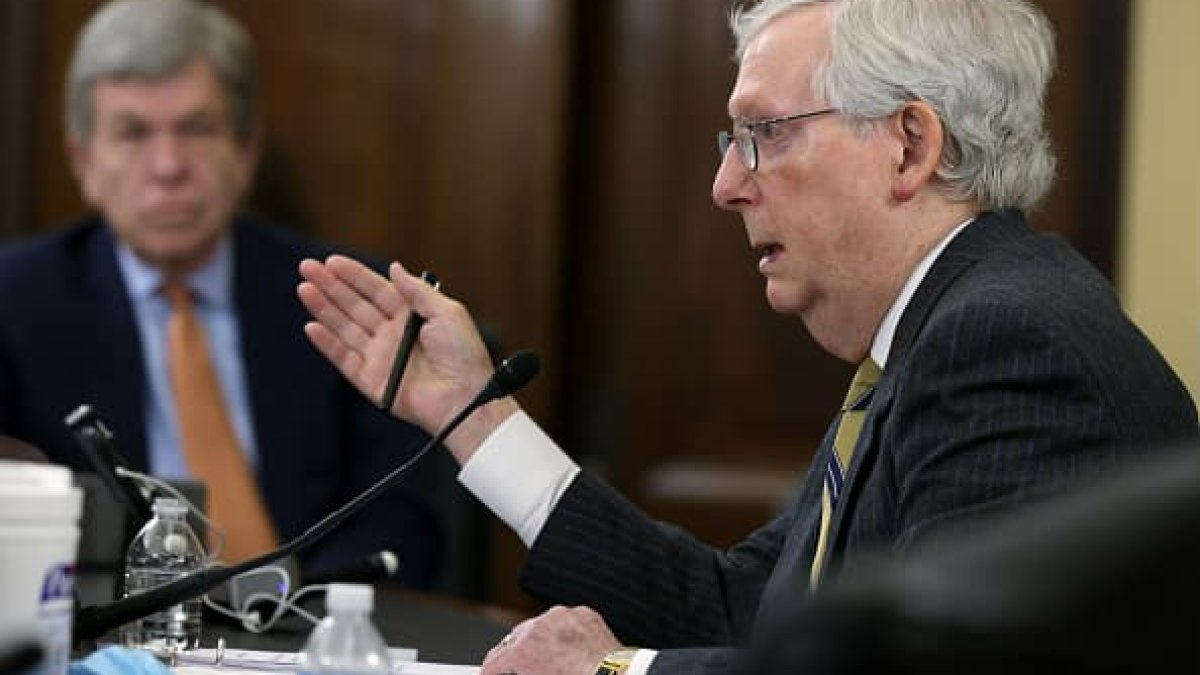 Schumer and McConnell Clash Over Election Reform as Democrats Push Voting Rights Legislation 1