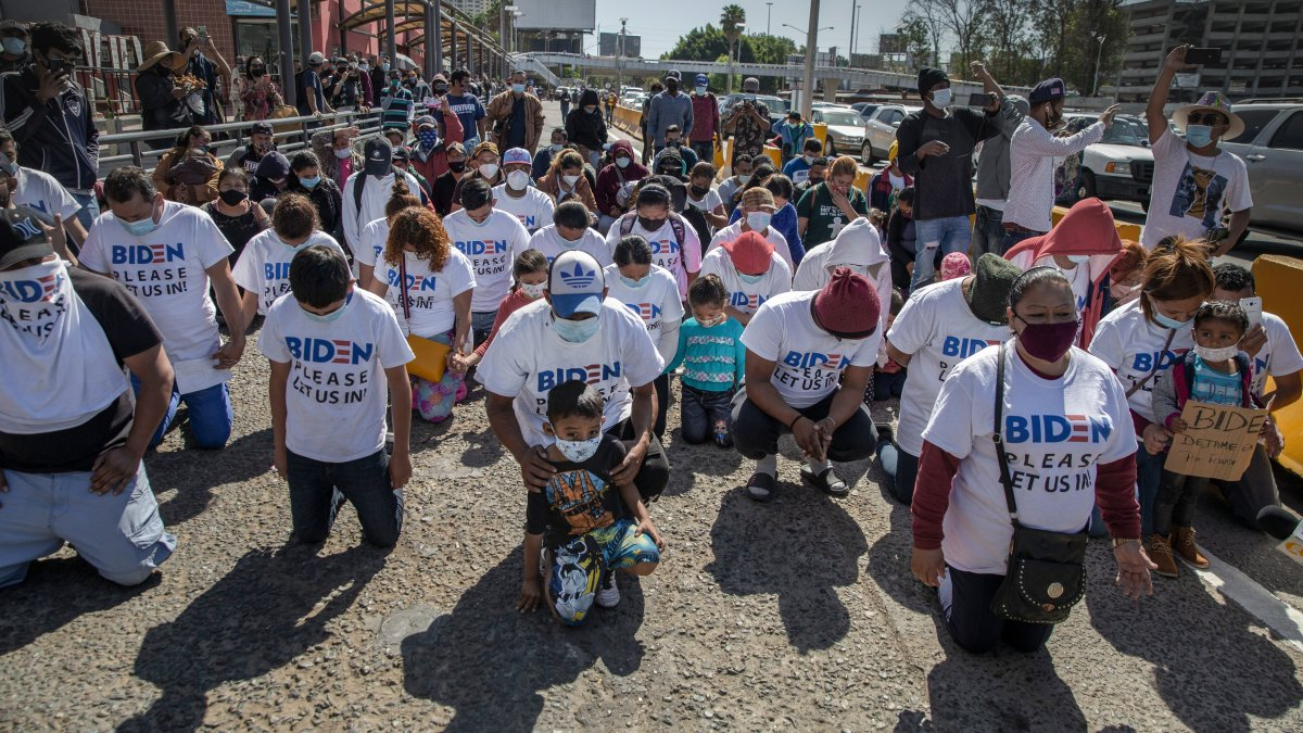 US Reports Surge of Kids at SW Border, a Challenge for Biden 1