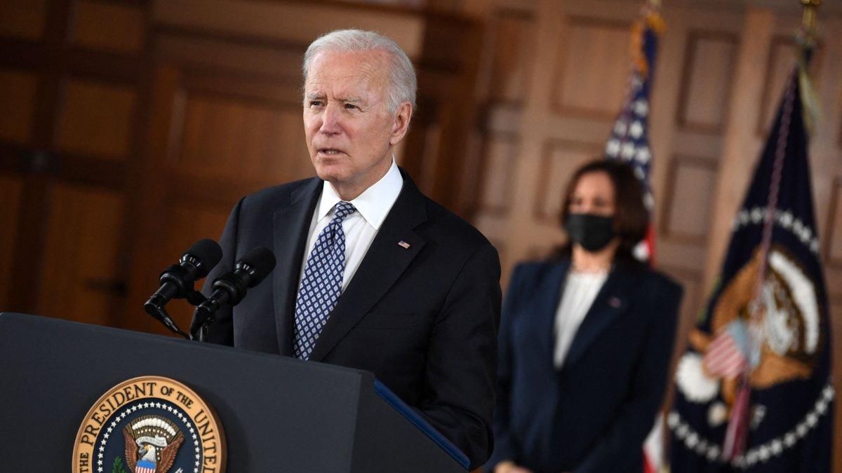 'Speak Out:' Biden, Harris Decry Racism During Atlanta Visit 1