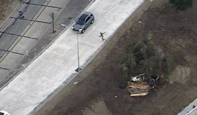 Image result for car chase naked driver image