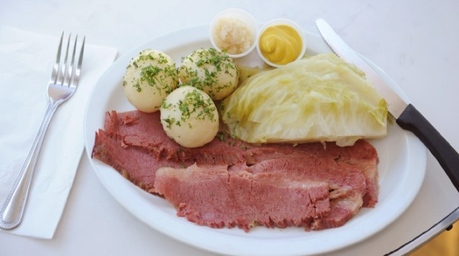 Image result for magee's kitchen corned beef cabbage potatoes