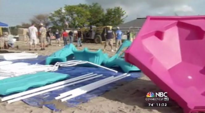 Twenty six playgrounds are being built to honor the victims of the shooting at Sandy Hook  Elementary. A playground in Fairfield honors Jessica Rekos.