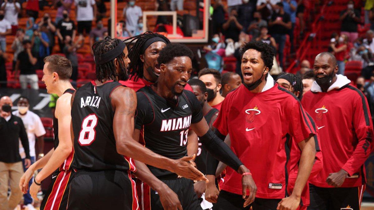 Bam! Adebayo's Jumper Lifts Miami Heat Past Brooklyn Nets