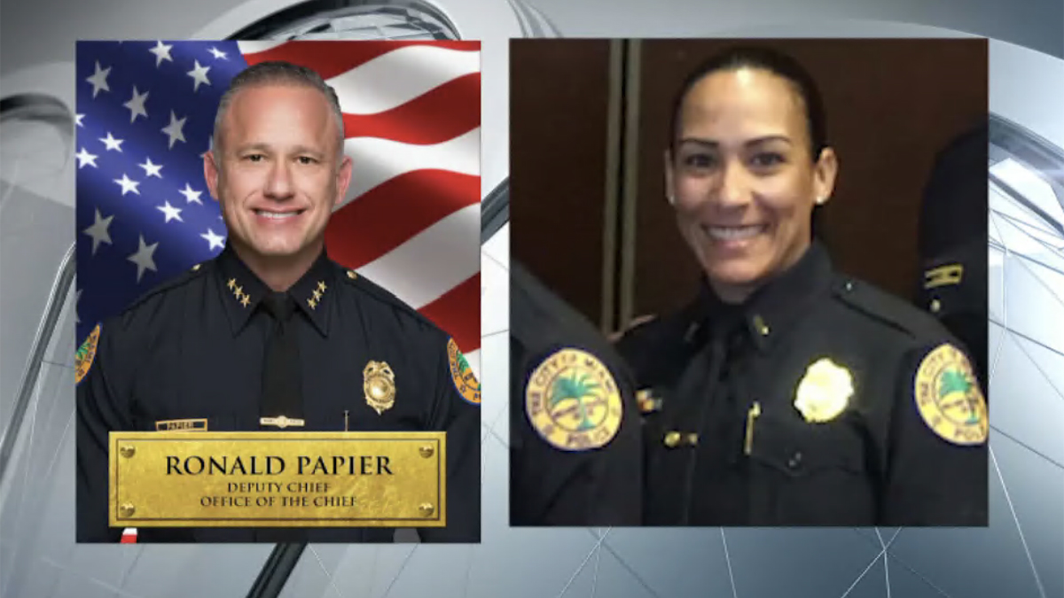 Miami Police Deputy Chief and Wife Fired After Investigation Into Crash