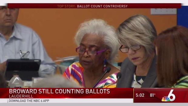 [MI]  Broward compte toujours les bulletins de vote vendredi après les élections