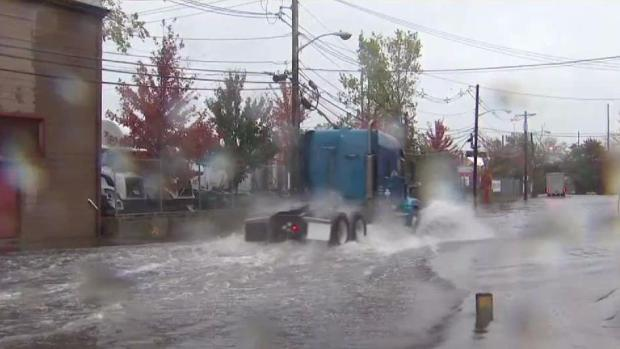 Severe Flooding Causes Problems in New Jersey