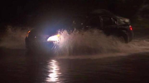 Stormy Weather Leads to Flooded NYC Streets