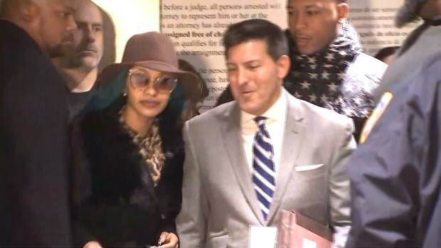 [NY] Cardi B Finds Out About Grammy Nomination at Court