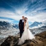 Nigerians React To This Mount Everest Wedding