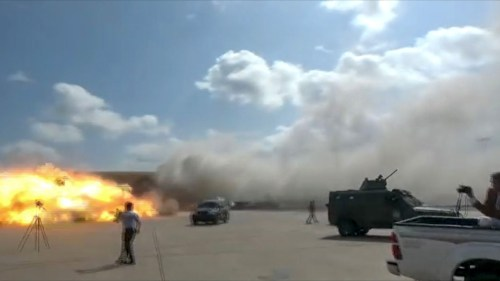 attack on aden airport