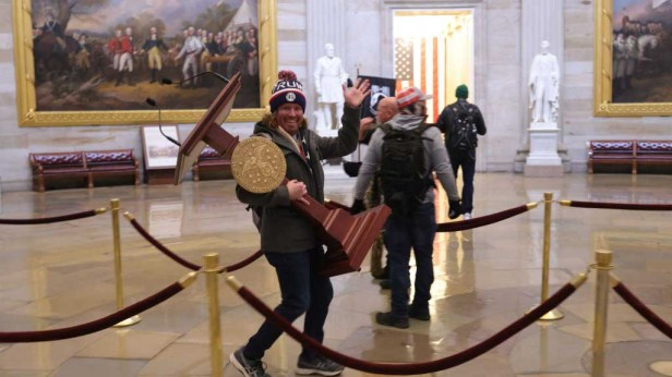 Insurrection: Startling Images Capture Mob of Trump Supporters Storming  Capitol Hill Forcing Evacuation, Lockdown – NBC10 Philadelphia