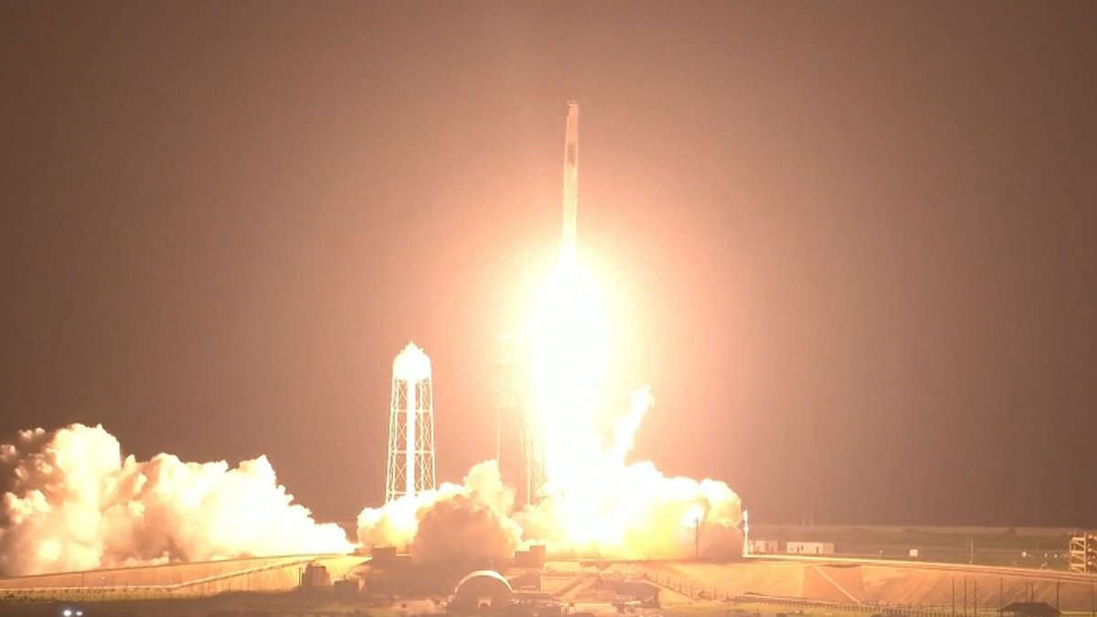 SpaceX Has Successful Launch, 4 Astronauts Heading to Space Station - NBC 10 Philadelphia