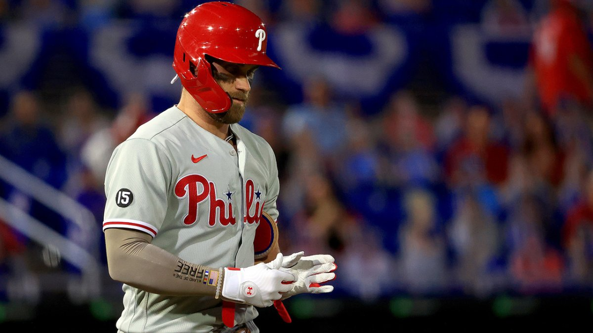 Phillies Lose Bryce Harper, J.T. Realmuto and a Lifeless Game to Blue Jays
