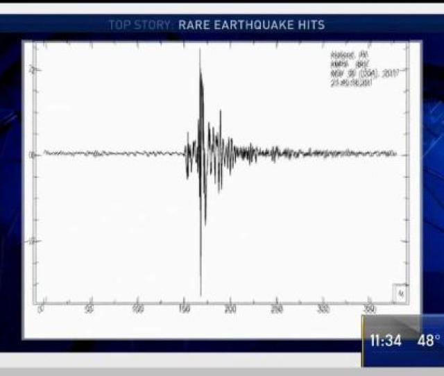 Magnitude   Earthquake Rumbles Philly Region