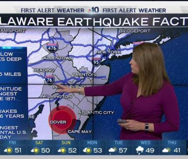 Delawares Magnitude   Earthquake Likely A Record Setter For The First State Nbc  Philadelphia