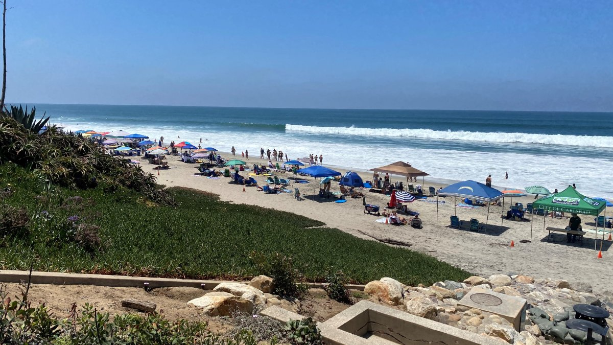 Visitors Flock to San Diego County Beaches Ahead of 4th of July Weekend