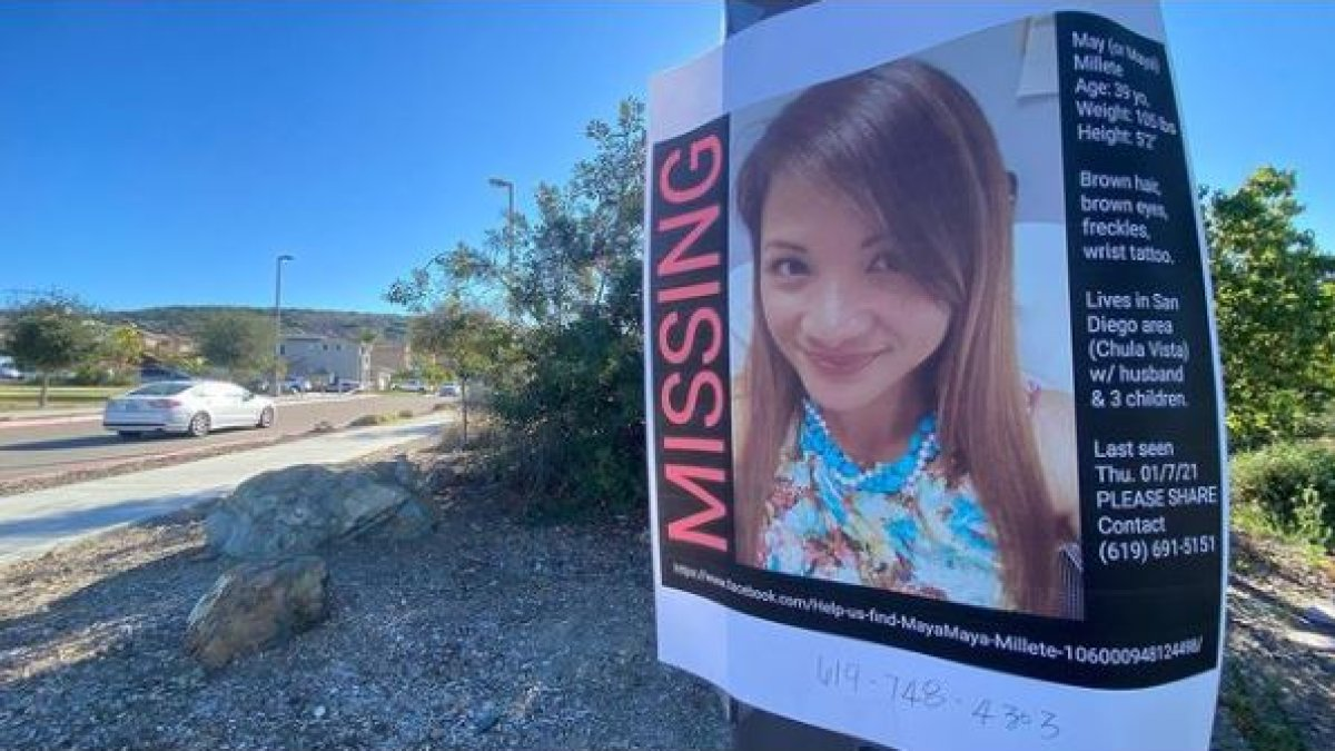 Husband of Missing Chula Vista Mother Served With Temporary Gun Violence Restraining Order