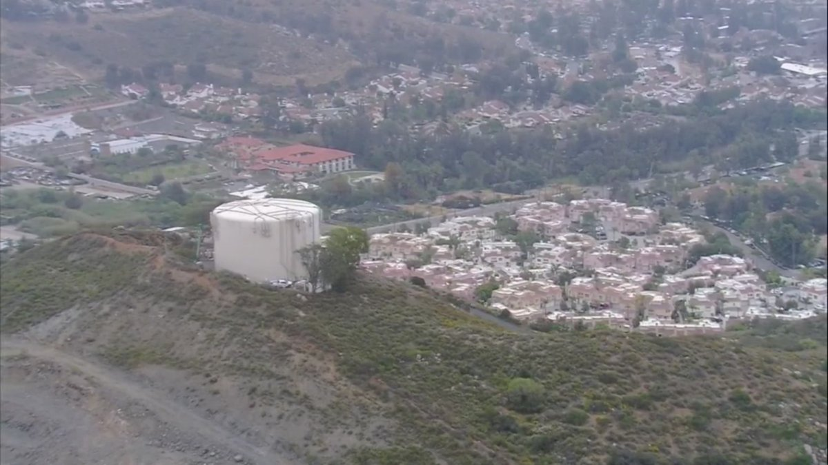 Water Tank Overflows, Sending a Flood of Water Into Rancho San Diego Homes
