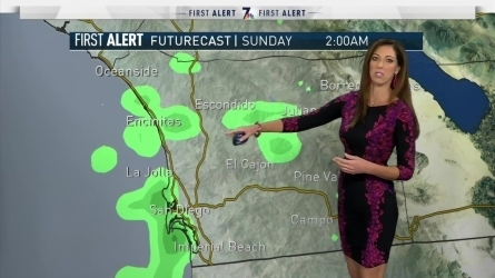 San Diego Weather  Forecast  Maps  and Doppler Radar   NBC 7 San Diego Brooke Landau s Forecast A strengthening trough tonight bringing us a  deeper marine layer  gusty winds  cooler than average temperatures and  precipitation