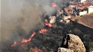 Image result for Wildfire on Canary Islands