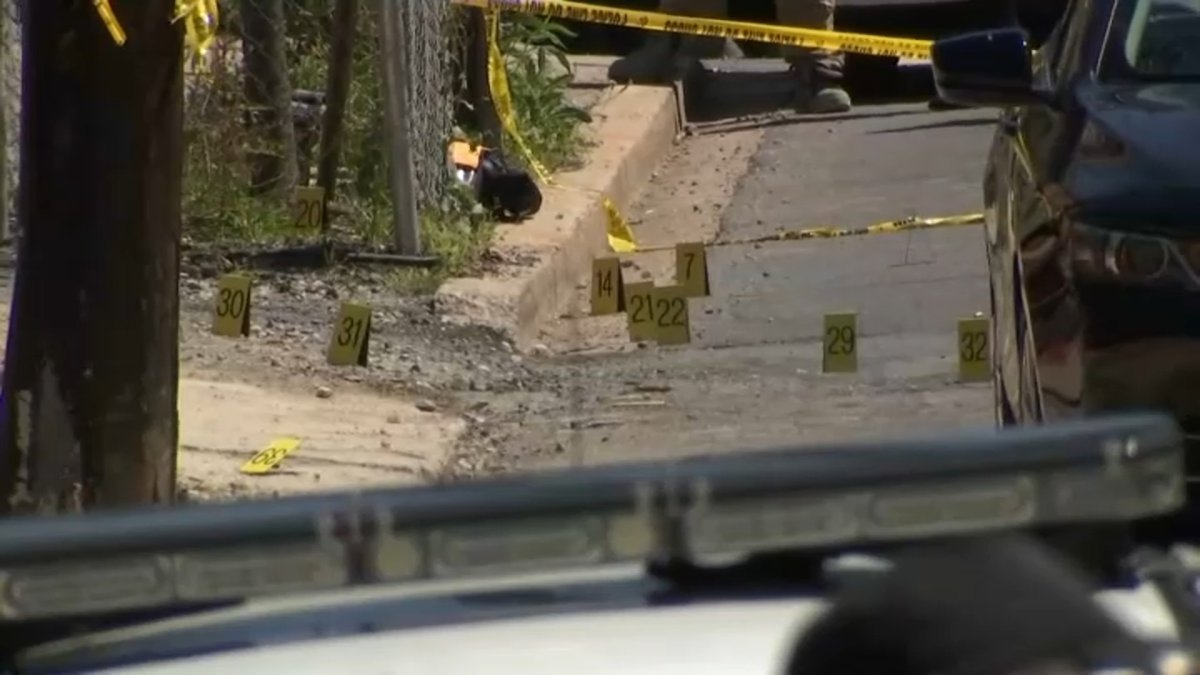 Shooting at DC Construction Site Leads to Pursuit, Car Fire