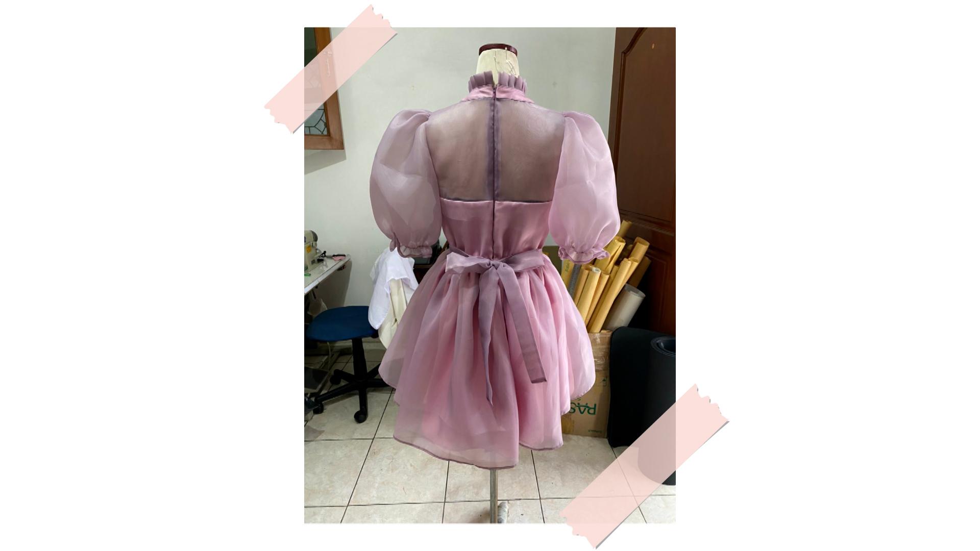 dress sample lunellery