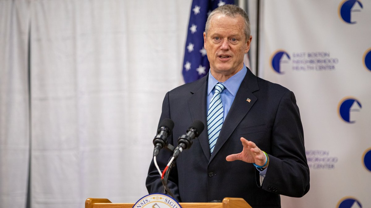 Gov. Baker Deflects Talk of Vaccine Passports